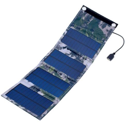 Turystyczny panel solarny 6W wyjście USB 5V PowerNeed