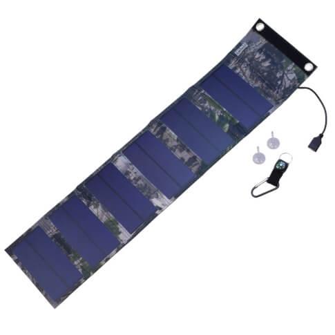 Turystyczny panel solarny 9W wyjście USB 5V PowerNeed