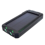 Power Bank 12000mAh z panelem solarnym USB 5V SUNEN