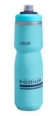 Bidon rowerowy Podium Chill 710 ml z podwójną konstrukcją ścian Camelbak błękitny