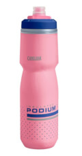 Bidon rowerowy Podium Chill 710 ml z podwójną konstrukcją ścian Camelbak różowy