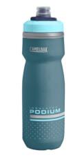Bidon rowerowy Podium Chill 620 ml z izolacją termiczną Camelbak niebieski