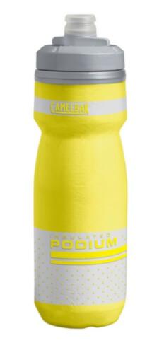 Bidon rowerowy Podium Chill 620 ml z izolacją termiczną Camelbak żółty
