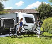Rynienka do transportu 3 roweru bagażnika Caravan Superb Thule