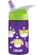 Butelka dziecięca CamelBak Eddy Kids 400ml fioletowa w zwierzęta