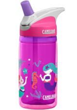 Butelka dziecięca CamelBak Eddy Kids Insulated 400ml z izolacją fioletowo różowa w syrenki