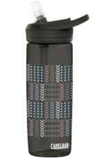 Butelka turystyczna Eddy+ 600ml Camelbak czarna ze wzorem