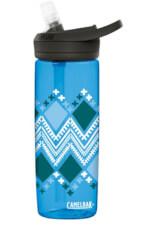 Butelka turystyczna Eddy+ 600ml Camelbak niebieska ze wzorem