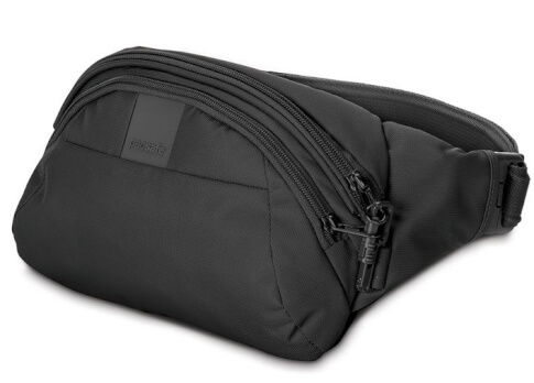 Biodrówka antykradzieżowa Pacsafe MetroSafe LS120 Black