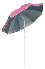 Parasol plażowy Beach Umbrella UPF 50+ Pink EuroTrail