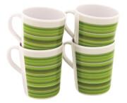 Komplet 4 kubków turystycznych Blossom Mug Set Pogonia Green Outwell