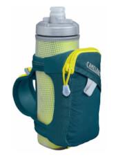 Uchwyt dla biegaczy Quick Grip Chill z bidonem Peat Fitness Chill Camelbak niebieski