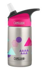 Kolorowa butelka termiczna dla dzieci Eddy Kids Vacuum Insulated 400ml Camelbak różowa