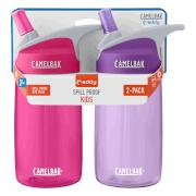 Zestaw dwóch turystycznych butelek dziecięcych Eddy Kids 400ml CamelBak różowa i fioletowa