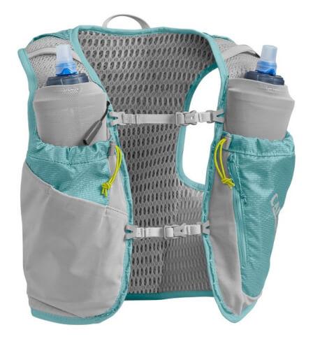 Damska wentylowana kamizelka biegowa Women's Ultra Pro Vest XS z dwoma bidonami Quick Stow Flask 500ml Camelbak