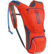 Damski przewiewny plecak rowerowy Aurora z bukłakiem Crux 2,5L pomarańczowy Camelbak