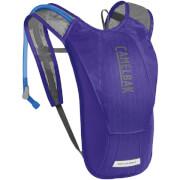 Damski przewiewny plecak rowerowy Charm z bukłakiem Crux 1,5L fioletowy Camelbak