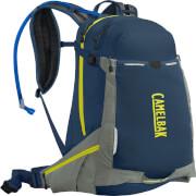 Wentylowany plecak rowerowy H.A.W.G. LR 20 z bukłakiem Crux Lumbar 3 L niebieski Camelbak