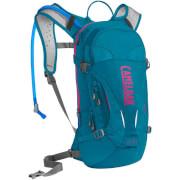 Damski plecak rowerowy z systemem nawadniania L.U.X.E 100 oz z bukłakiem Crux 3L błękitny Camelbak