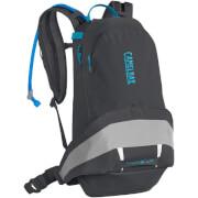 Damski plecak rowerowy z systemem nawadniania L.U.X.E. LR 14 z bukłakiem Crux Lumbar 3 L szary Camelbak