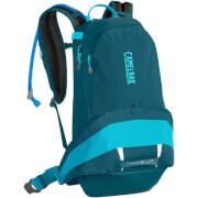 Damski plecak rowerowy z systemem nawadniania L.U.X.E. LR 14 z bukłakiem Crux Lumbar 3 L niebieski Camelbak