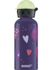 Butelka turystyczna dla dzieci Glow Heartballons 0,4L SIGG