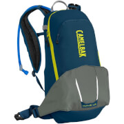 Praktyczny plecak rowerowy z systemem nawadniania M.U.L.E. LR 15 z bukłakiem Crux Lumbar 3 L niebieski Camelbak