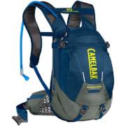 Praktyczny plecak rowerowy z systemem nawadniania Skyline LR 10 z bukłakiem Crux Lumbar 3 L niebieski Camelbak