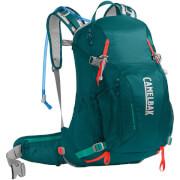 Damski plecak trekkingowy z systemem nawadniania Sundowner LR 22 100 oz z bukłakiem Crux Lumbar 3 L niebieski Camelbak