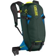 Bezpieczny plecak rowerowy z ochraniaczem T.O.R.O. PROTECTOR 14 zielony Camelbak