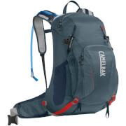 Plecak trekkingowy z systemem nawadniania Franconia LR 24 100 oz z bukłakiem Crux Lumbar 3 L szary Camelbak
