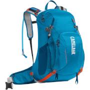 Plecak trekkingowy z systemem nawadniania Franconia LR 24 100 oz z bukłakiem Crux Lumbar 3 L niebieski Camelbak