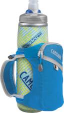 Uchwyt dla biegaczy Quick Grip Chill z bidonem Podium Chill 600 ml niebieski Camelbak