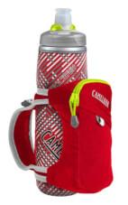 Uchwyt dla biegaczy Quick Grip Chill z bidonem Podium Chill 600 ml czerwoy Camelbak