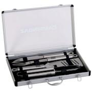 Zestaw przyborów do grilla w pudełku Utensils Kit Aluminium Case CampinGaz