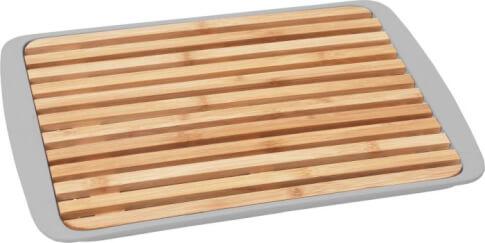 Deska do krojenia chleba z tacą Bread Board Grey Brunner
