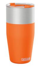 Ergonomiczny izolowany kubek termiczny KickBak 20 oz pomarańczowy Camelbak