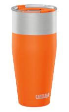 Ergonomiczny izolowany kubek termiczny KickBak 30 oz pomarańczowy Camelbak