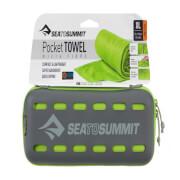 Ręcznik szybkoschnący Pocket Towel S Sea To Summit 40 x 80 zielony