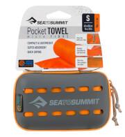 Ręcznik szybkoschnący Pocket Towel S Sea To Summit 40 x 80 pomarańczowy