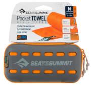 Ręcznik szybkoschnący Pocket Towel M Sea To Summit 50 x 100 pomarańczowy