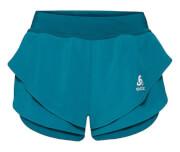 Damskie spodenki szybkoschnące Odlo Split Shorts Omnius w kolorze morskim