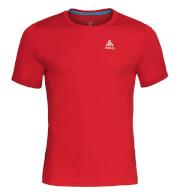 Techniczna koszulka Odlo dla biegaczy męska Top Crew neck s/s Nikko F-Dry czerwona