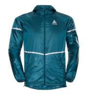 Wiatroszczelna techniczna kurtka Odlo Pro Jacket Zeroweight C/O błękitna