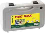 Zestaw szpilek namiotowych Peg Box Stick 25 Brunner