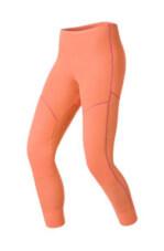 Damskie kalesony termoaktywne z długimi nogawkami Odlo ACTIVE Originals X-Warm Suw Bottom Pant łososiowe