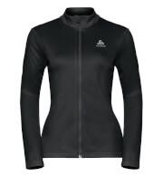Damska bluza sportowa Odlo Midlayer full zip Koya Light czarna