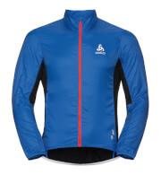 Wiatroszczelna rowerowa kurtka Odlo Jacket Zeroweight (FUJIN) C/O niebieska męska
