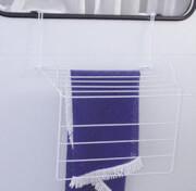 Suszarka turystyczna na pranie okienna