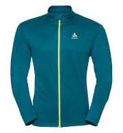 Outdoorowa techniczna bluza Odlo Midlayer full zip Saikai Light C/O męska błękitna